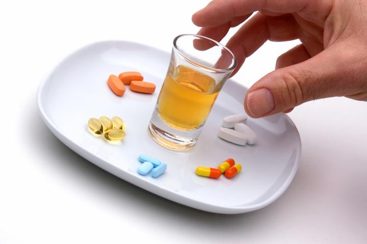 Взаимодействие препаратов с алкоголем